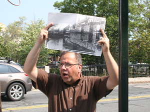 Dave McKean shows the sight of a 19th century Lowell tenement