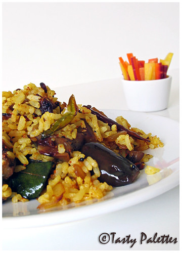Curried Eggplant Rice