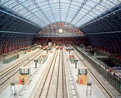 The Barlow shed from above (EurostarForTomorrow) Tags: uk london station eurostar railway stpancras barlow stpancrasstation williamhenrybarlow barlowshed