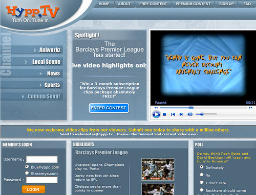Hypp.TV Site