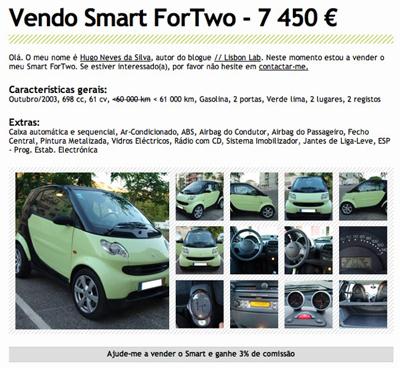 Smart ForTwo para Venda