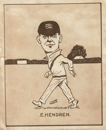 Patsy Hendren caricature
