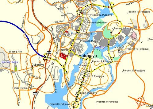 putrajaya-route