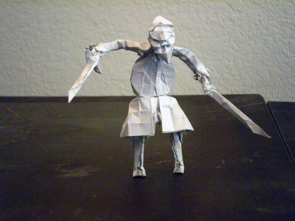 The Worlds Most Recently Posted Photos Of Origami And Sword Fencer 03 Olorin1984 Tags Square Fold