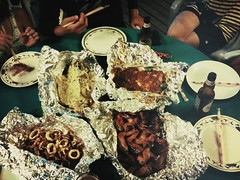 Barbecued seafood, Pulau Tioman