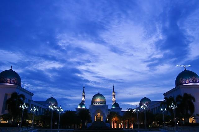 Masjid Al-Bukhary + Twilight Sky