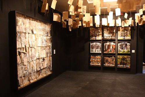 Las cápsulas II. Inauguración de la exposición el Bosque Encapsulado de Ana Donat. Obra Social Caja Mediterrańeo by Caja Mediterráneo