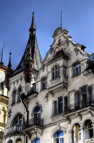 Building. Karlovy Vary. Edificio