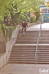 Tyler Johnson for Cultur (zhoffner) Tags: bike jump stair gap fixedgear cultur tylerjohnson zlog fixedfreestyle