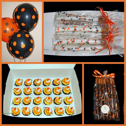 Halloween Sweets and Party Supplies