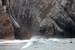 DIAGONAL (André Pipa) Tags: sea praia beach portugal mar power sintra wave atlanticocean oceanoatlântico onda poder potere adraga pouvoir