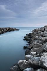 (G.R.Bispo) Tags: ocean longexposure rock canon reis oeiras tejo foz caxias pedras 1022 atlantico bispo gonçalo gonças ilustrarportugal fortedesãobruno