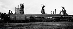 Clay Lane blast furnaces viewed from the south (yogi59) Tags: iron long steel south cleveland bank olympus clay lane works british furnace blast dorman furna