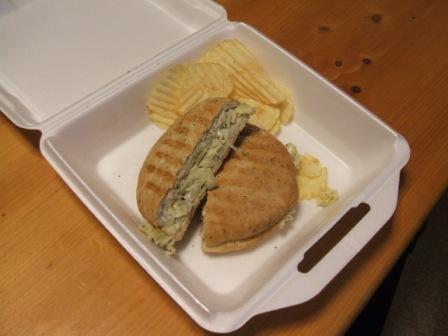 Artichoke panino
