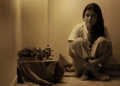 (hpk) Tags: woman india hpk vikram beautiful sepia lady dark friend mood sad sweet melancholy manalcoly ranjuwalia