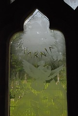 narnia window, holy trinity church