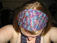 scarf as headband