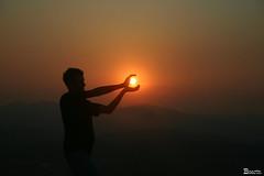 Por do sol em.... (Boarin) Tags: sol natureza modelo renato fotografo