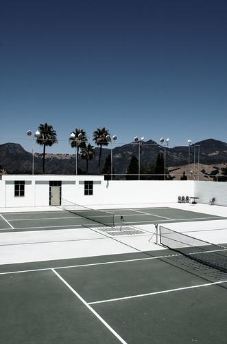 Desert Tennis