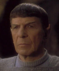 Spock in Unification (TNG)