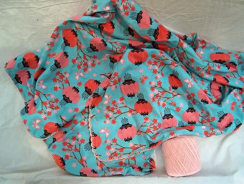 lantern baby blanket