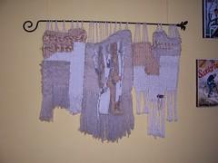 Tapiz Blanco (Emebe Elepe) Tags: color textura tapestry trama artcraft tapiz tejido cabuya telar tapices mblp