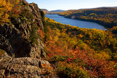 Lake Of The Clouds (James Marvin Phelps) Tags: park lake mountains fall clouds river photography state michigan superior carp porcupine jmp jamesphelps mandj98 anawesomeshot superbmasterpiece diamondclassphotographer