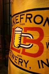 Lakefront Brewery giant mug