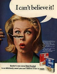 Quaker Diet Frosted Cereal Ad 1965 (twitchery) Tags: halloween television tv 60s comedy witch magic 70s abc samantha witchcraft tabitha darrin supernatural sitcom bewitched endora sorcery erinmurphy elizabethmontgomery agnesmoorehead dickyork