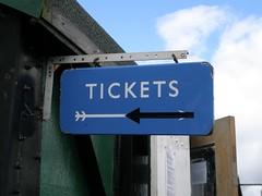 Tickets (I like) Tags: railway trains narrowguage wanlockhead leadhills leadhillsandwanlockheadrailway adhesionrailway