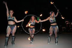 Solar Flare Conclave (HabitForming) Tags: man robert fire solar dancers dancer burningman blackrockcity burning brc flare 07 greenman 2007 conclave keido