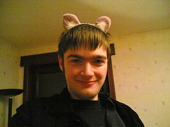 Me in cat ears