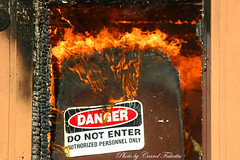 Do Not Enter (Akfirebug) Tags: signs alaska fire funnysigns firedept firefighters fairbanks akfirebug athousandwordsus carolfalcetta