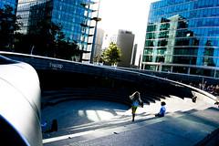 Square (mgratzer) Tags: city uk travel blue england reflection london square europe child united capital perspective kingdom gb unitedkingom greatbritan showonmysite
