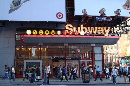 Times Square subwat station