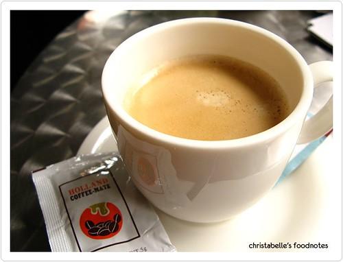台中肉蛋土司熱咖啡