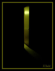ghost and the darkness (M. Boucher) Tags: door light danger warning closet dark children trapped thought escape spirit fear faith dream entrance evil run safety hide caution nightmare curious afraid enter passage scar harm soe creep haunt flee afterlife spooks boogieman blueribbonwinner shieldofexcellence anawesomeshot superbmasterpiece megashot coolestphotographers theperfectphotographer