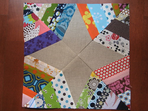 Spider web block 2 for Bee a Little Bit Japanese
