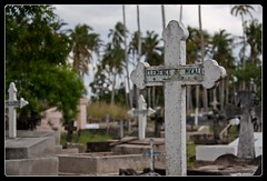 Cemetary (biancapreusker) Tags: africa grave graveyard stone southafrica dead tanzania die cross cemetary tomb 2010 bagamoyo canon450d thechallengefactory cptdar rovos2010