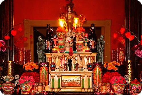 Día de los Muertos Altar 2010