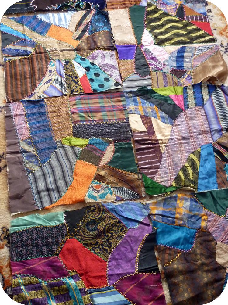 grandma ida's crazy quilt