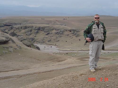 NRCS employee Jeff Sanders in Afghanistan