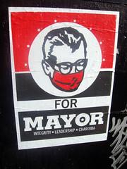 (Barrybu) Tags: street chicago art poster square logan swiv