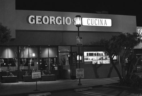 Georgio's Cucina Signage