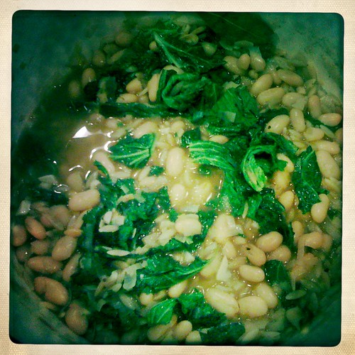 Kale and Leek White Bean Soup