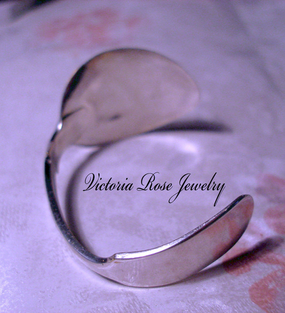 Silver Plated Spoon Bangle