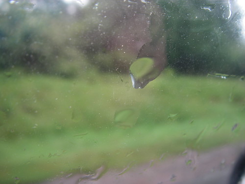 Raindrop on Window
