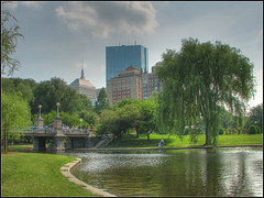 Boston Public Garden (Dave Delay) Tags: boston bostonma hdr bostonpublicgarden 3xp