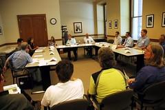 Congressman Blumenauer discussion