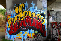 Silence (funkandjazz) Tags: sanfrancisco california graffiti silence silencer bth